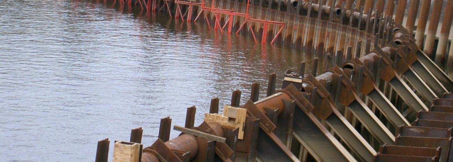 Anchors Struts Arcelormittal Steel Sheet Piles
