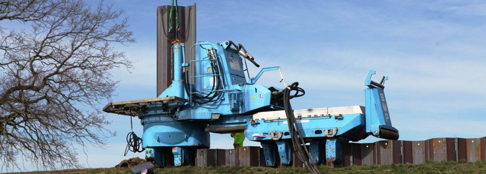 Installation - ArcelorMittal - Sheet Piling