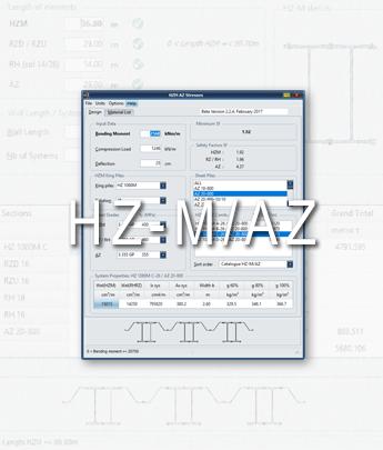 HZ®-M/AZ® Stresses. Design software.